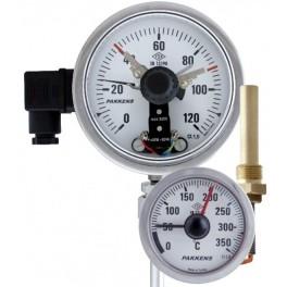 PAKKENS Elektrik Kontaklı Termometreler